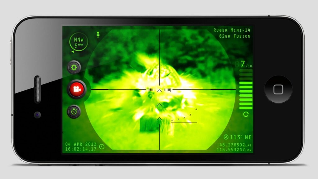 THE INTELISCOPE THERMAL RIFLE SCOPE