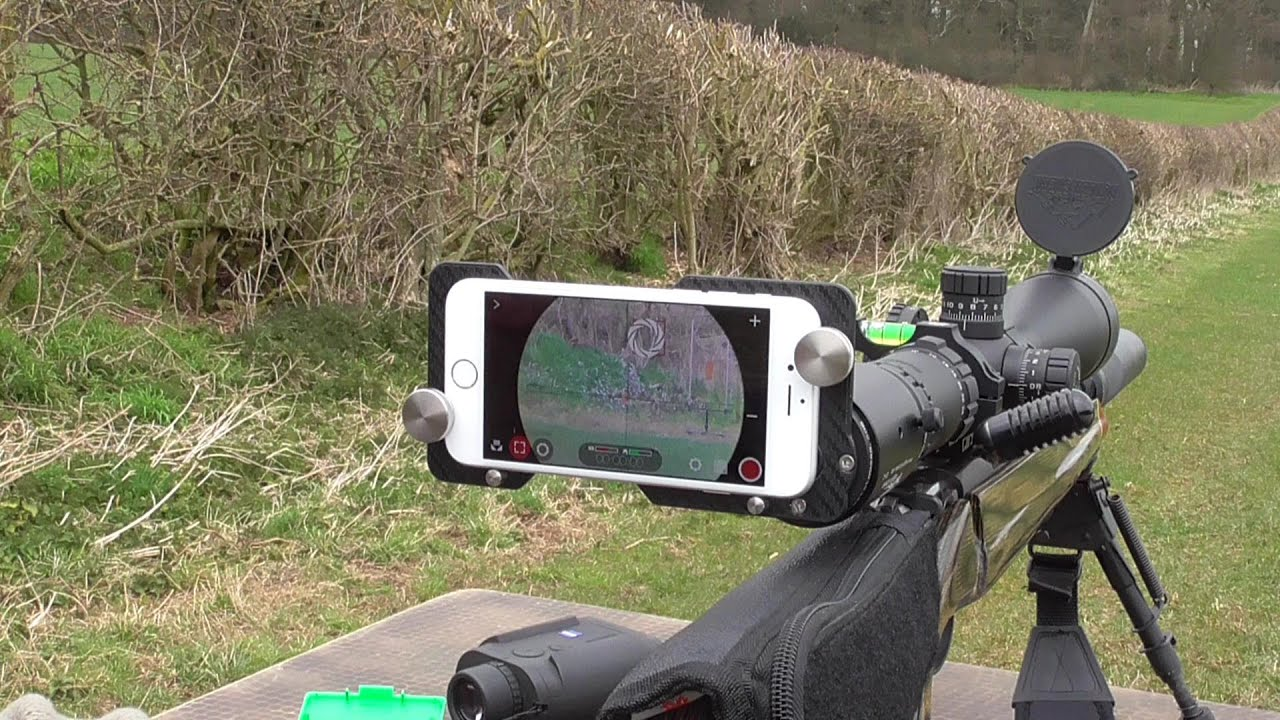 Turn your iPhone into a rifle scope